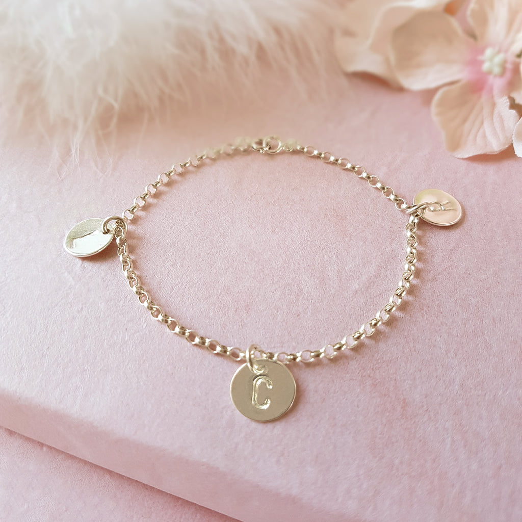 Especially For You Personalised Initial Bracelet