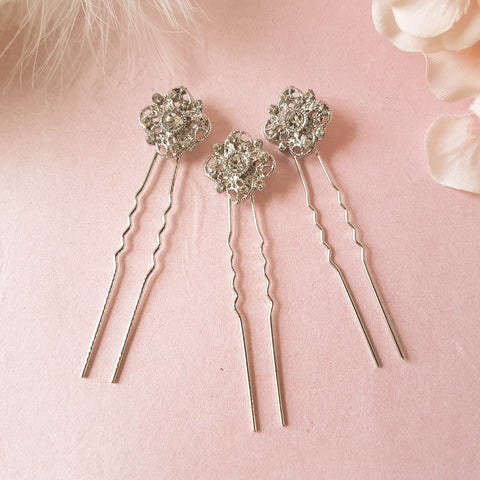 Romantic Vintage Wedding Hair Pins