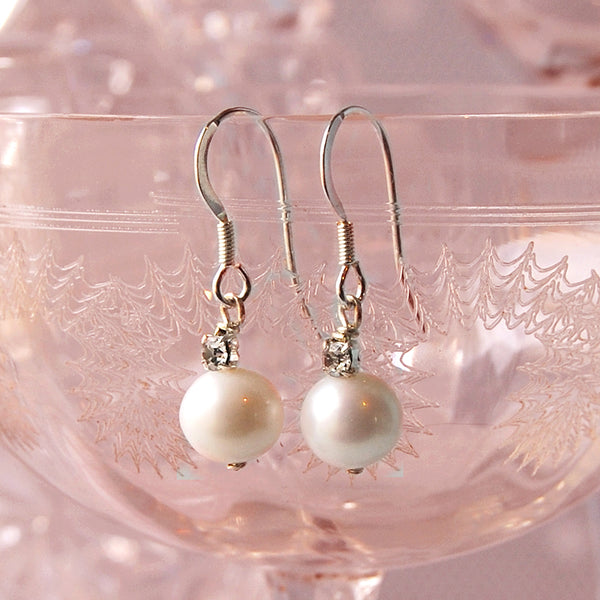 PEARL & CRYSTAL EARRINGSGIFT SET | SUSIE WARNER WEDDING JEWELLERY
