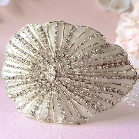 Theda Art Deco Wedding Headpiece Bridal Headdress