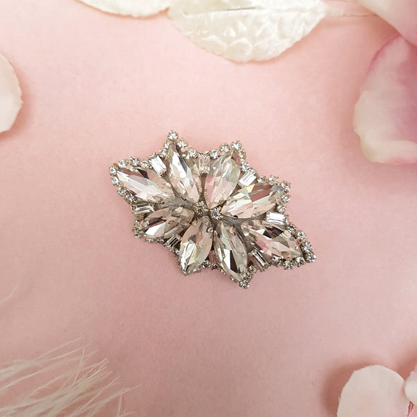 VINTAGE DIAMANTE RHINESTONE HAIR CLIP | SUSIE WARNER WEDDING ACCESSORIES