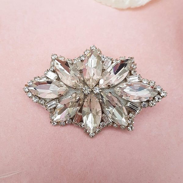 VINTAGE MARQUISE DIAMANTE HAIR CLIP | SUSIE WARNER HAIR ACCESSORIES