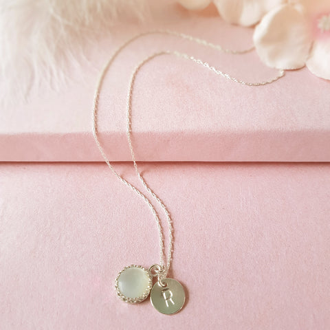 You're The Sweetest Personalised Gemstone Necklace