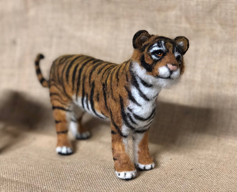 Soft Sculpture Tiger
