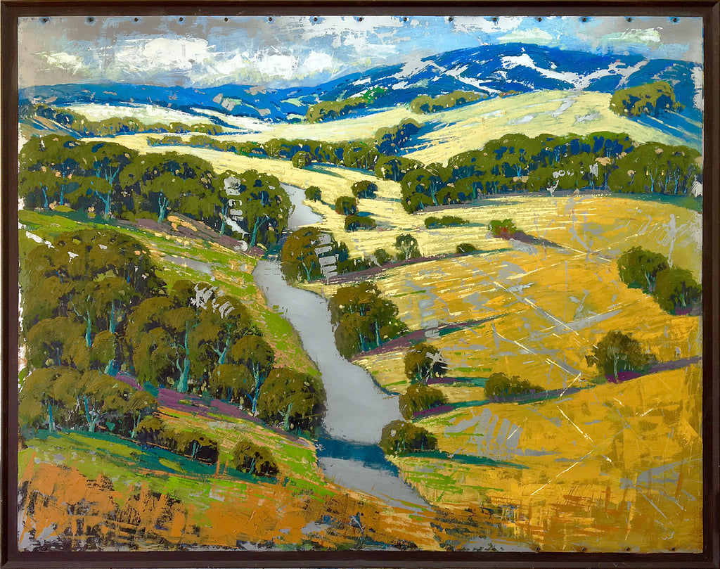 Above The Russian River 51x64