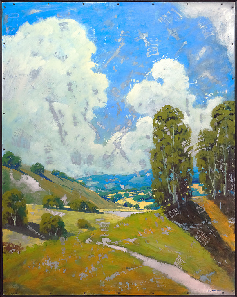 Hiking The Valley 60x48