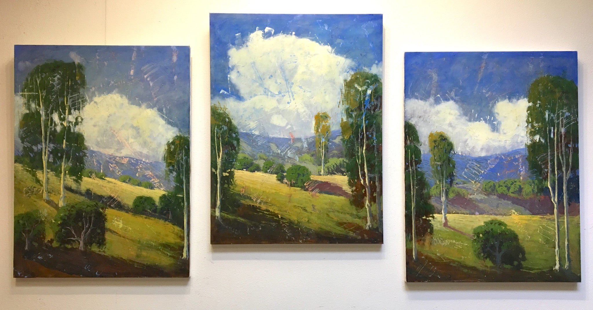 Eucalyptus Field Part-3 - 48x36