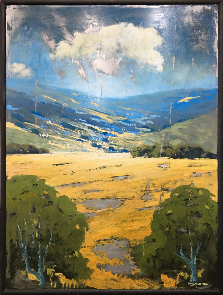 Looking Toward The Hills 40x30