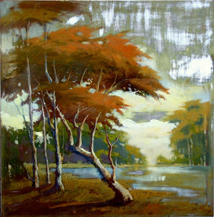 Pacific Coast Cypress 24x24- SOLD