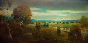 View From Geyserville 36x72 - SOLD