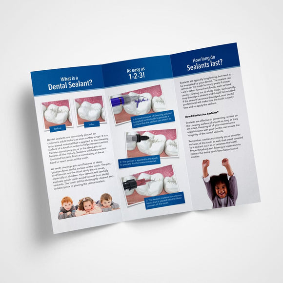 Pediatric Dental Brochures