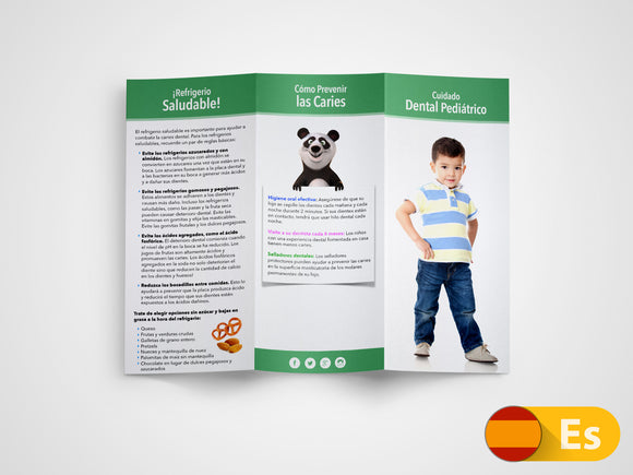 Pediatric Dentistry 11x8.5 Brochures (Spanish)