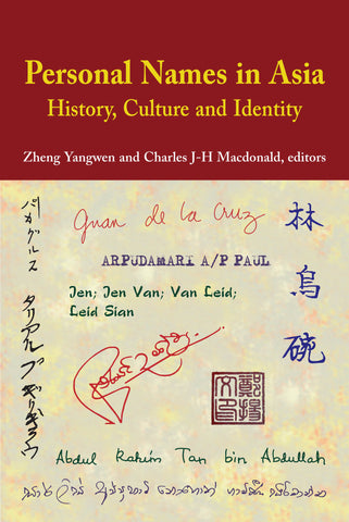 Personal Names in Asia: History, Culture and Identity