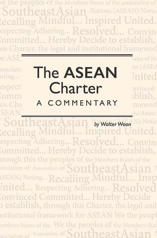 The ASEAN Charter: A Commentary
