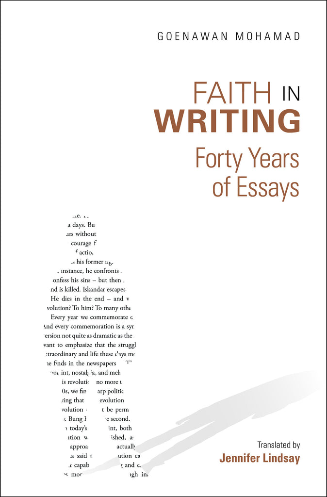 Faith in Writing: Forty Years of Essays