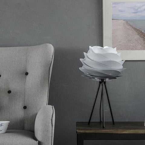 Carmina Mini Misty Grey Table Lamp