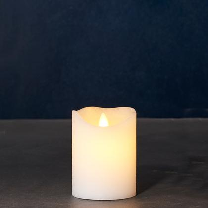 Sara White LED Candles