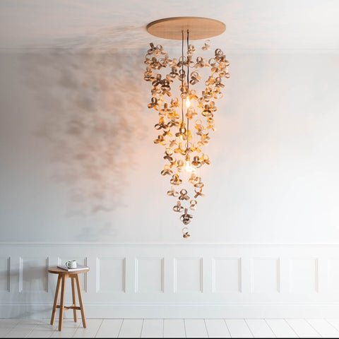Tom Raffield Flock Chandelier