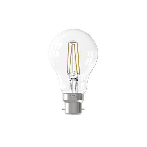 Clear Classic 7W LED Filament Bulb (B22) Dimmable
