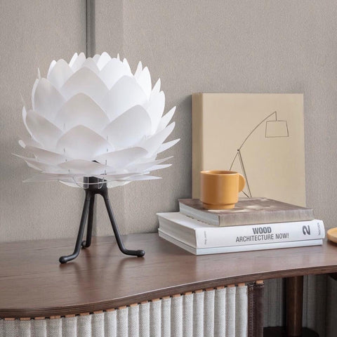 Silvia Mini White Table Lamp