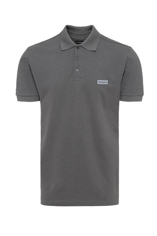 Basic Label Polo - Wolf Grey