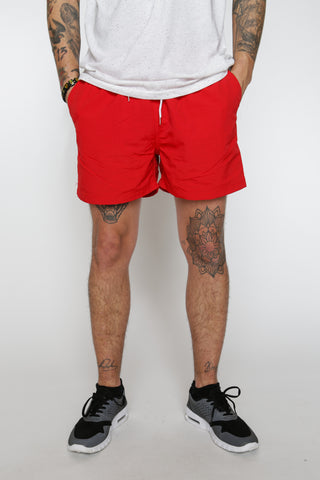 Song Shorts Red