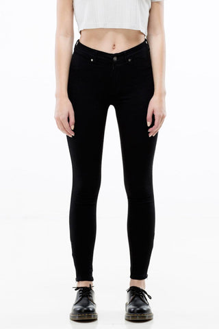 Domino Cropped , Black