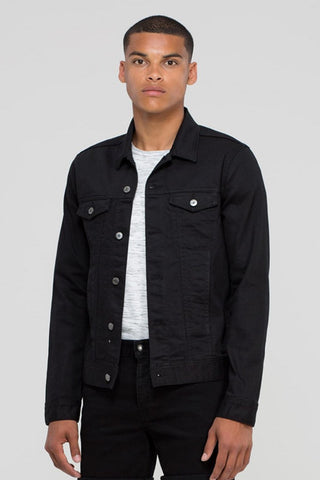 Dwight Denim Jacket Black
