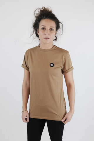 Oak Tee Burnt Khaki.