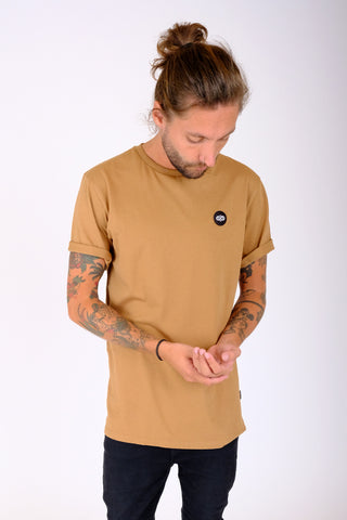 Oak Tee Burnt Khaki