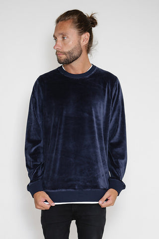 Lima Velour Dark blue