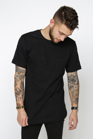 Rounded T-Shirt, Noír