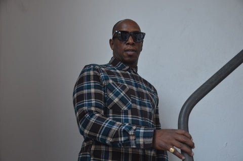 Ian Wright in Reality Dreams Sunglasses