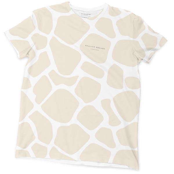 Beige Animal Tee - Reality Dreams - 1