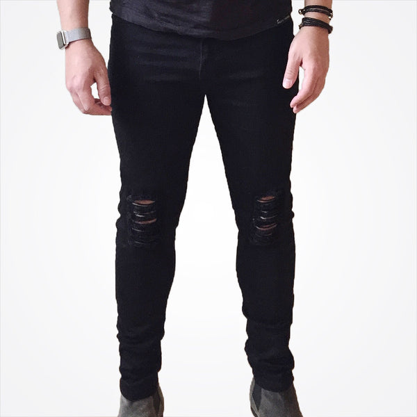 RD Distressed Jeans Black - Reality Dreams - 3