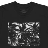 Palm Trees Black Tee
