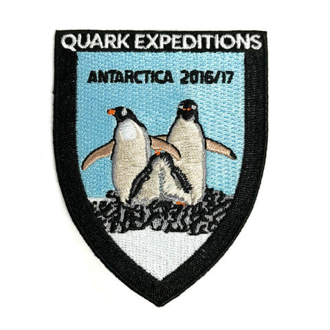 Antarctic 2016 - 2017 Souvenir Patch - Quark Expeditions, Inc.