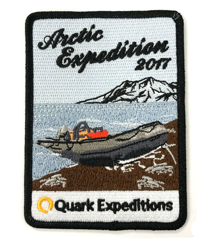 Arctic 2017 Souvenir Patch - Quark Expeditions, Inc.