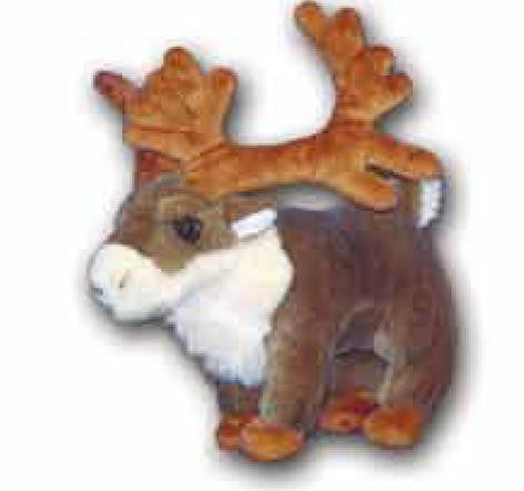Plush Toy Reindeer - Quark Expeditions, Inc.