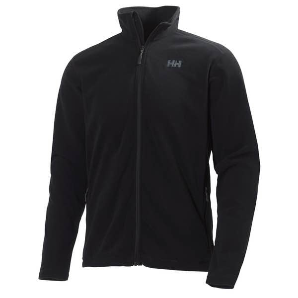 Helly Hansen Men's Daybreaker Full-Zip Fleece Jacket in Black - Helly Hansen