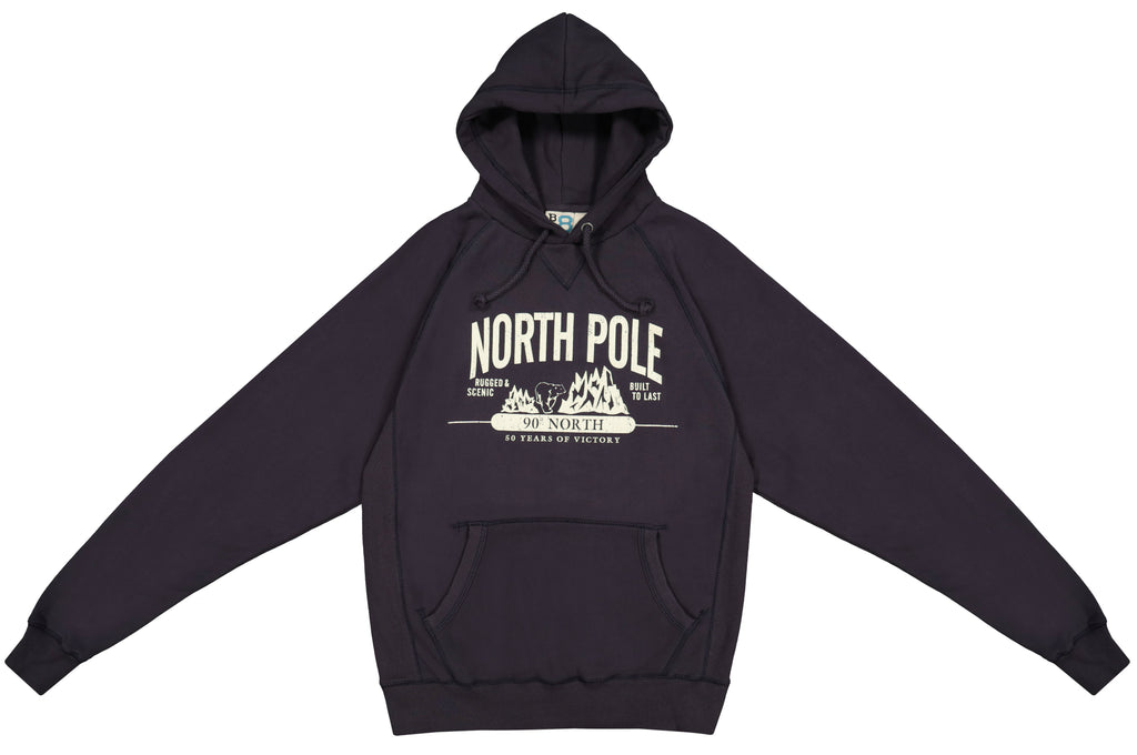 North Pole Hooded Sweatshirt