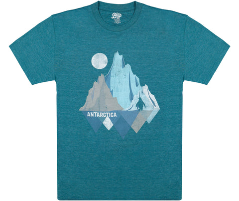 Antarctica Iceberg with Penguin T-Shirt