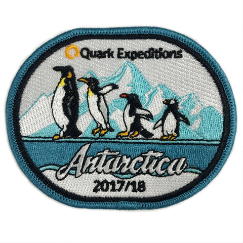 Antarctic 2017 - 2018 Souvenir Patch - Quark Expeditions, Inc.