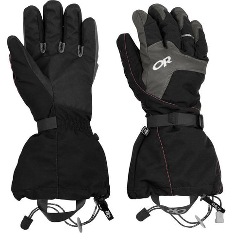 Outdoor Research Unisex ALTI Glove - Black - Quark Expeditions
