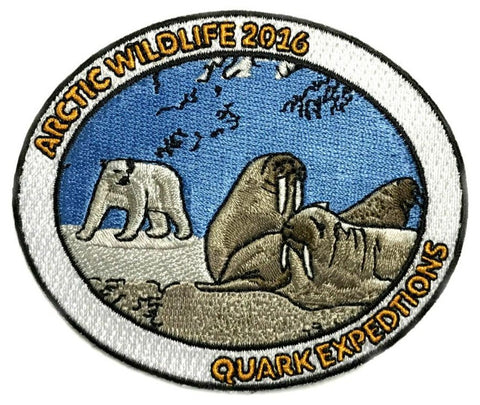 Arctic 2016 Souvenir Patch - Quark Expeditions, Inc.