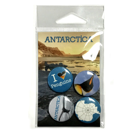 Antarctica Souvenir Button Pack - Quark Expeditions