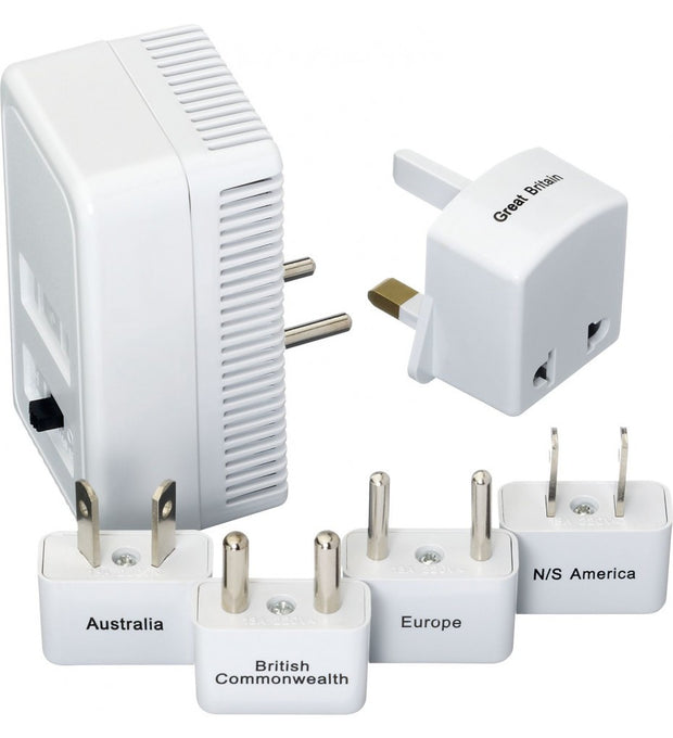 Worldwide Adapter Kit + Converter - Go Travel