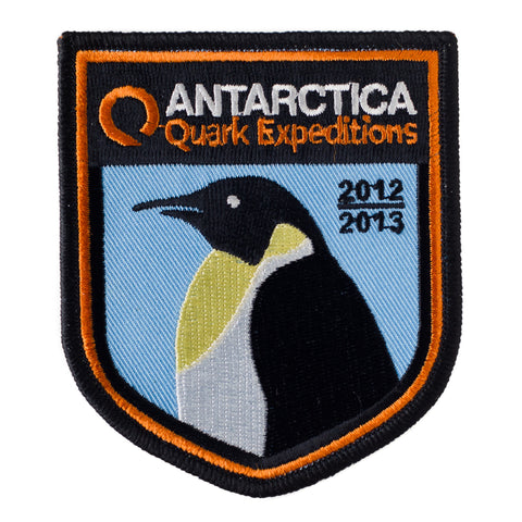 Antarctica 2012 - 2013 Souvenir Patch - Quark Expeditions, Inc.