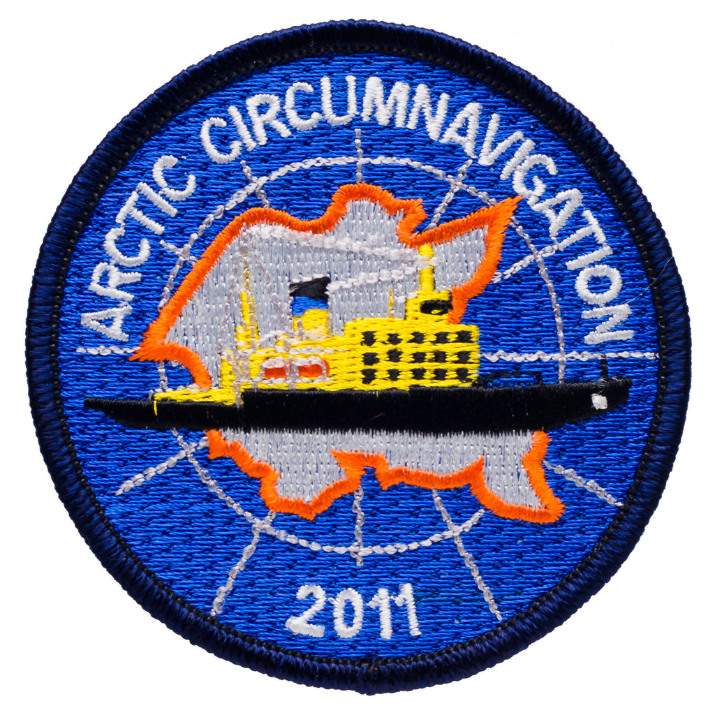 Arctic Circumnavigation 2011 Souvenir Patch - Quark Expeditions, Inc.