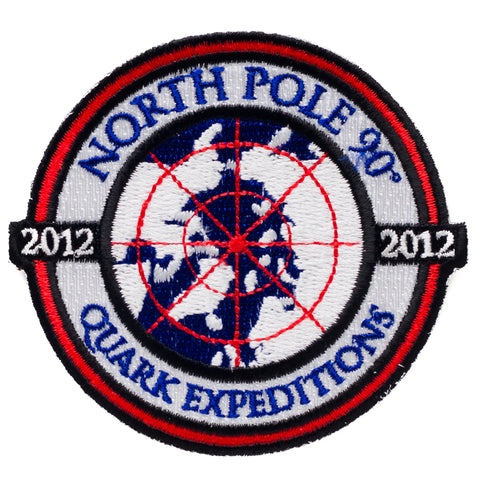 North Pole 2012 Souvenir Patch - Quark Expeditions, Inc.